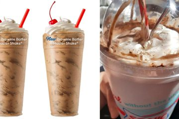 SONIC Brownie Batter Milkshake