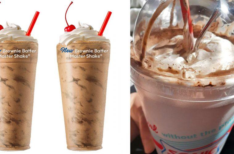 SONIC Brownie Batter Milkshake