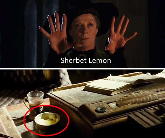 Sherbet Lemon Candy in The Half-blood Prince