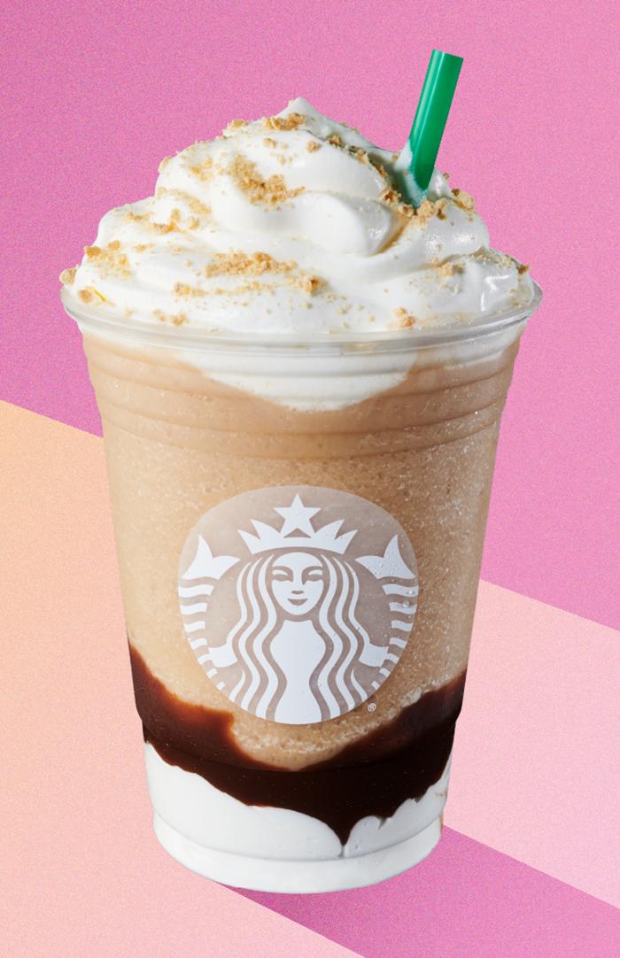 Smores Frappuccino Starbucks
