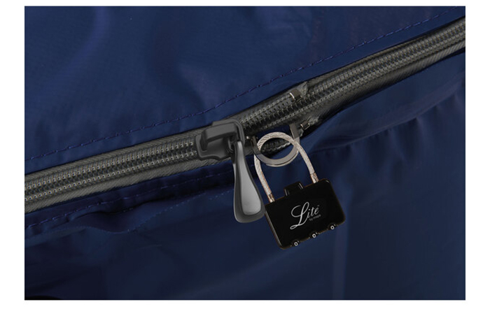 Zipper with Lock