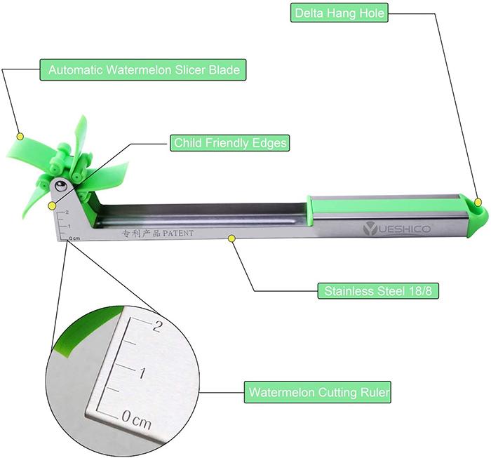 automatic fruit slicer details