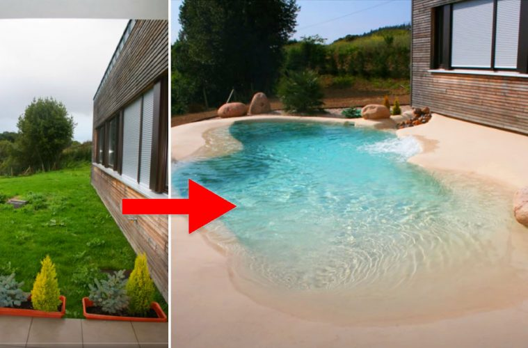 backyard sand pools
