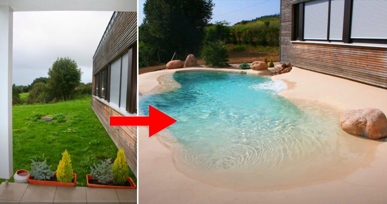 People Are Turning Their Backyards Into A Vacation Spot ...