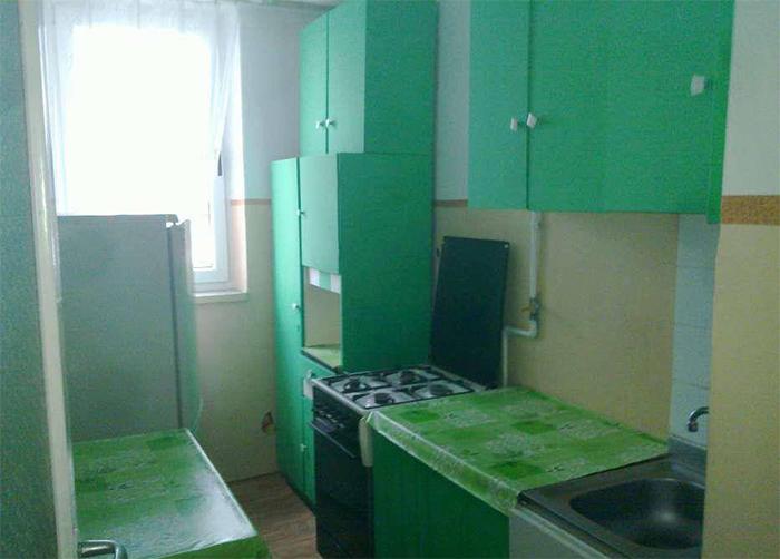 bad kitchen designs too much green