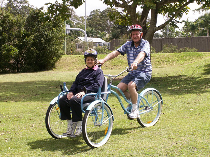 bill forward and wife glad unique tricycle