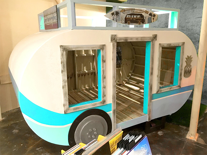 camper playhouse construction
