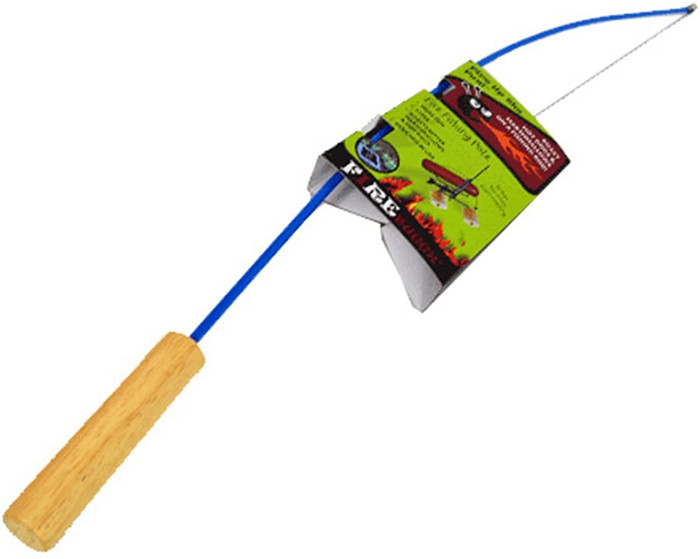 campfire fishing rod blue