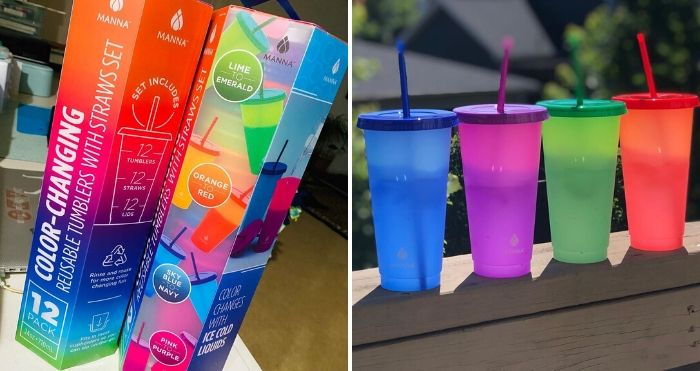color-changing tumblers