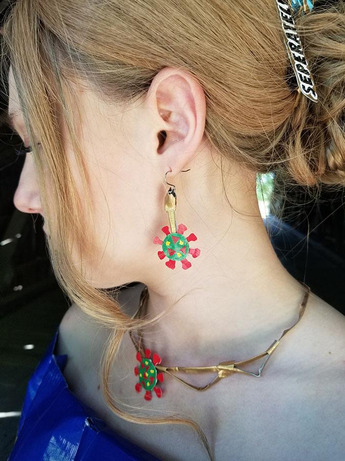 coronavirus jewelry
