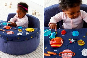 deep space baby activity chair