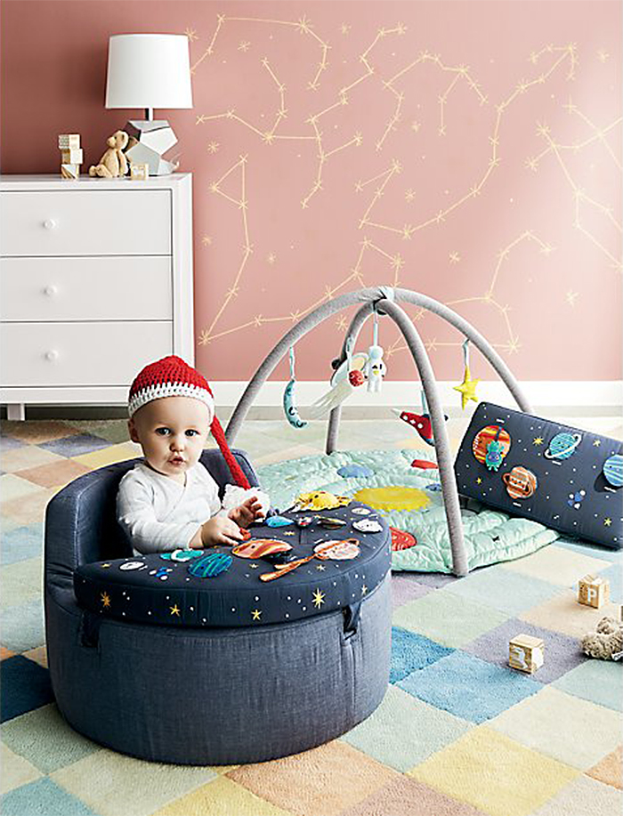 deep space comfy seat for infants