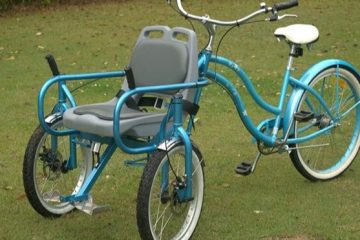 disabled bike chair