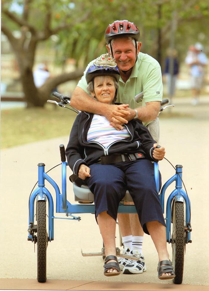 disabled bike chair bill forward