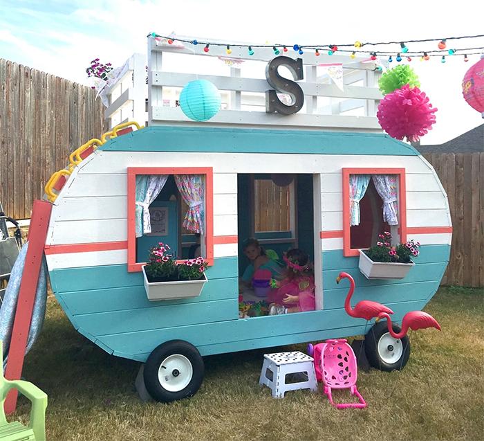 diy camper playhouse plan