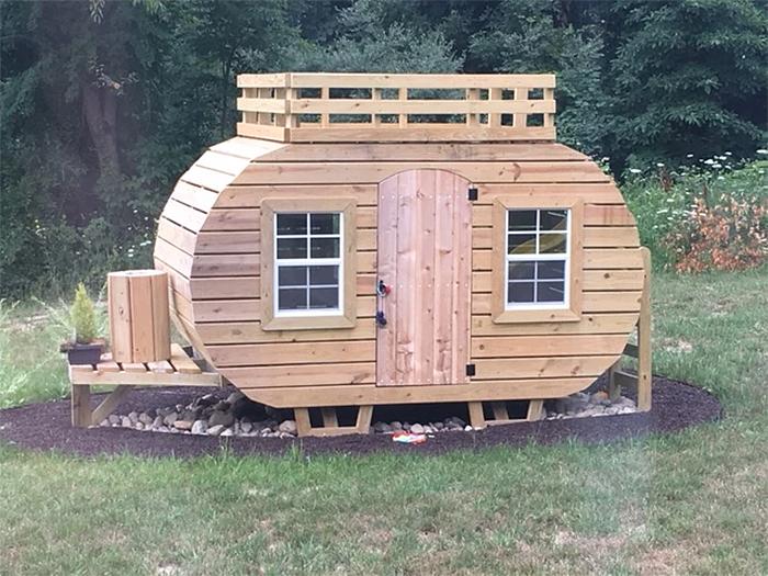 diy camping playset wood lumber