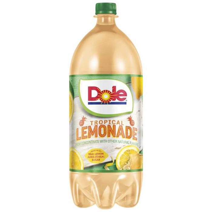 dole tropical lemonade 2-liter bottle