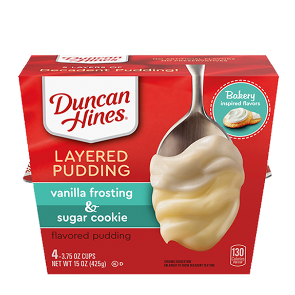 duncan hines frosted sugar cookie pudding