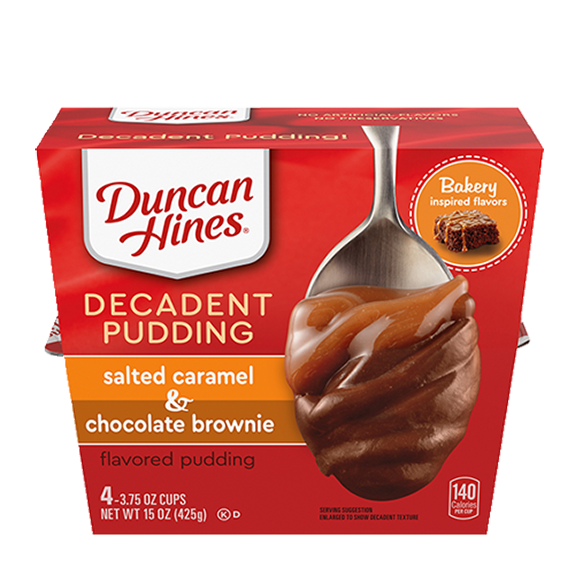 duncan hines salted caramel brownie pudding