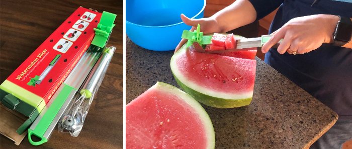 easy to use watermelon windmill cutter