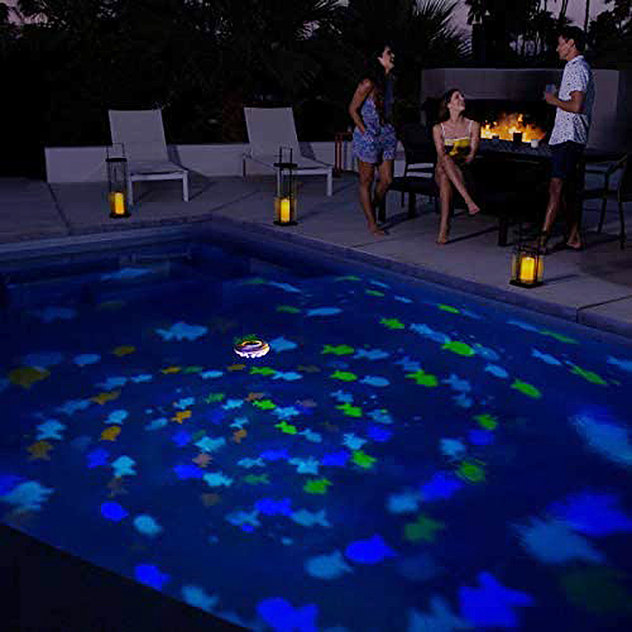 floating projection light fishes