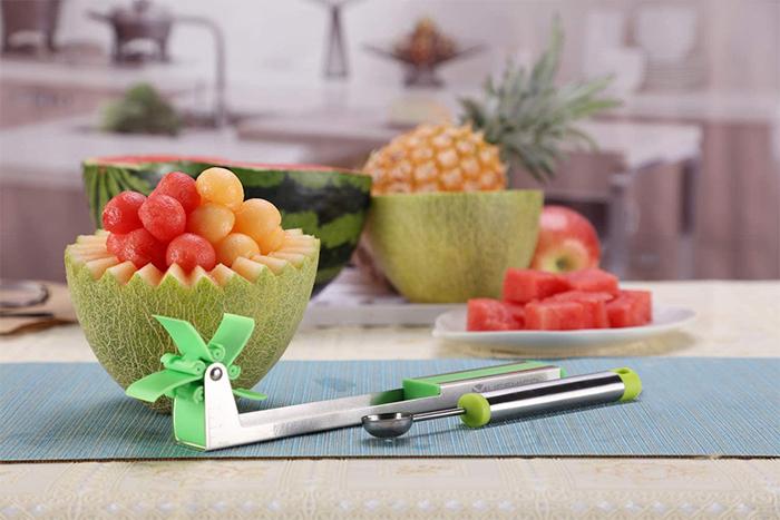 fruit cubes slicer