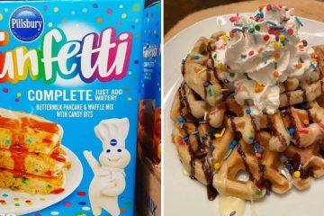 funfetti pancake & waffle mix