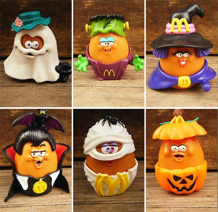 halloween happy meal toys