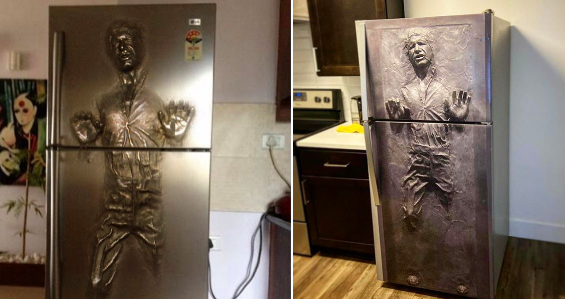 You Can Turn Your Fridge Into Han Solo Stuck In Carbonite