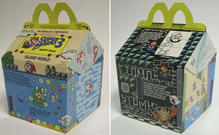 happy meal box super mario 3