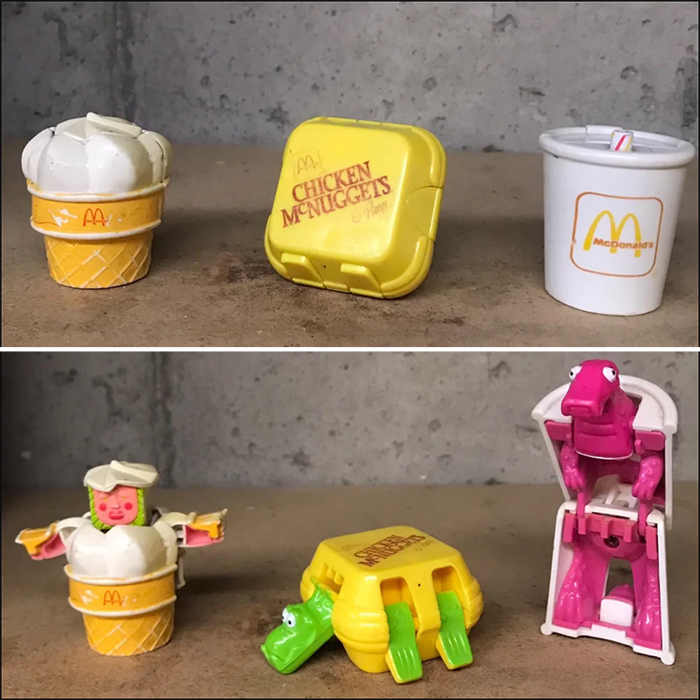 happy meal transformers toys