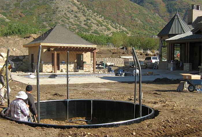 in-ground trampoline installation