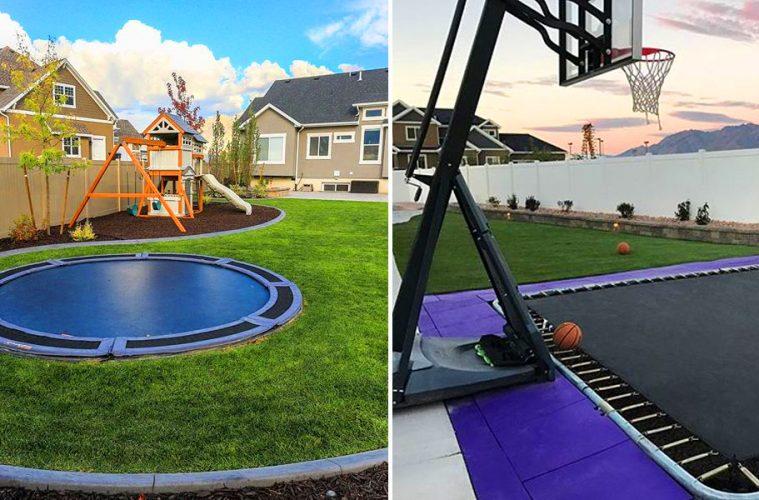 in-ground trampolines