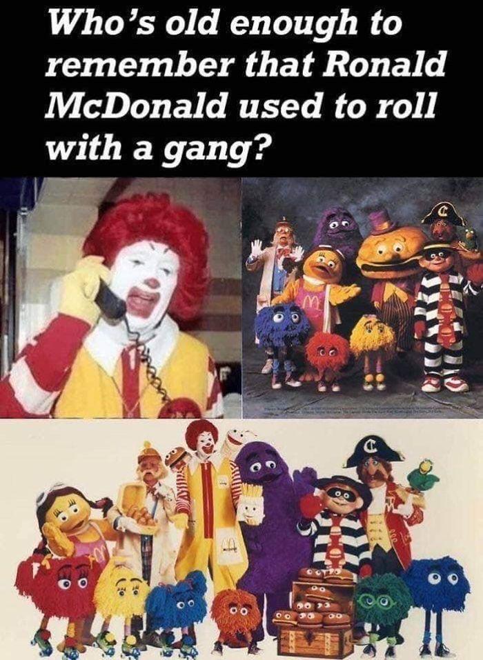 mcdonaldland commerical characters