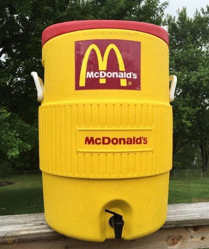 mcdonald's big yellow cooler