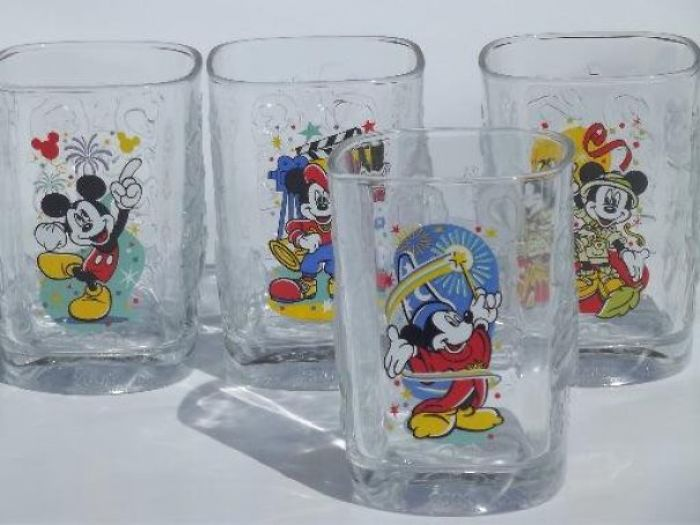mcdonald's disney mickey mouse glasses
