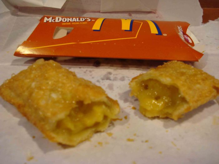 mcdonald's nostalgic menu fried apple pie
