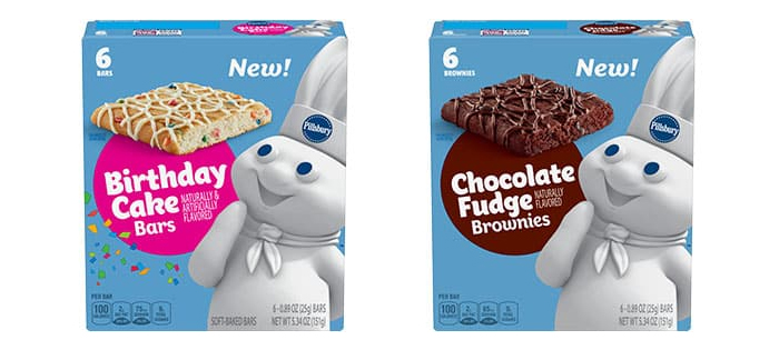 pillsbury already baked snack bars