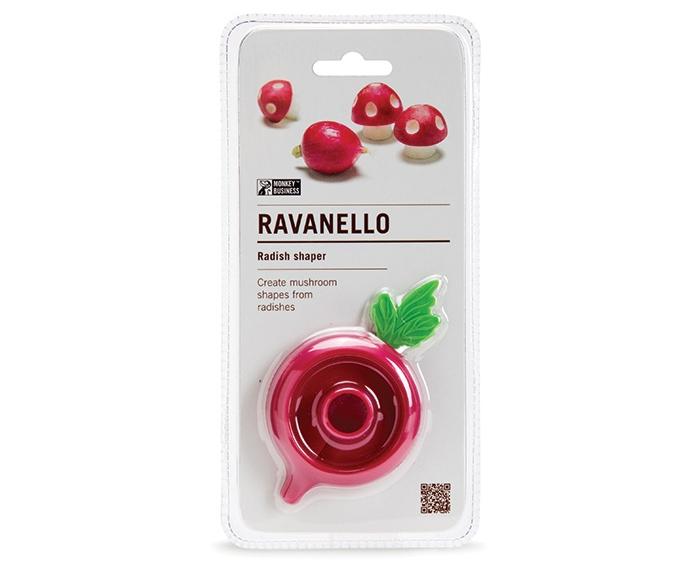 radish shaper can turn radishes into mushrooms