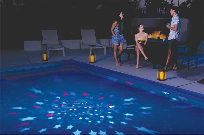 rainbow reef aquarium pool light stars