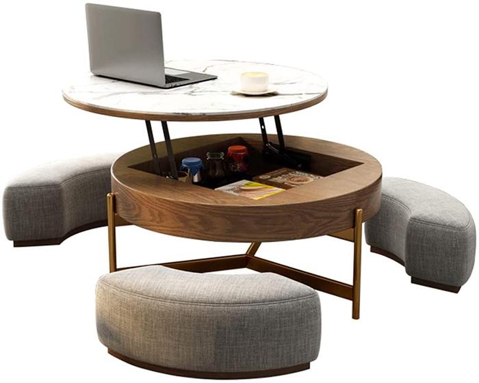 rising coffee table