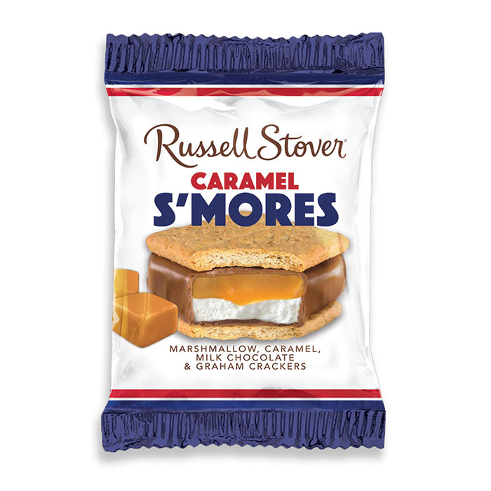 russell stover caramel s'more bar