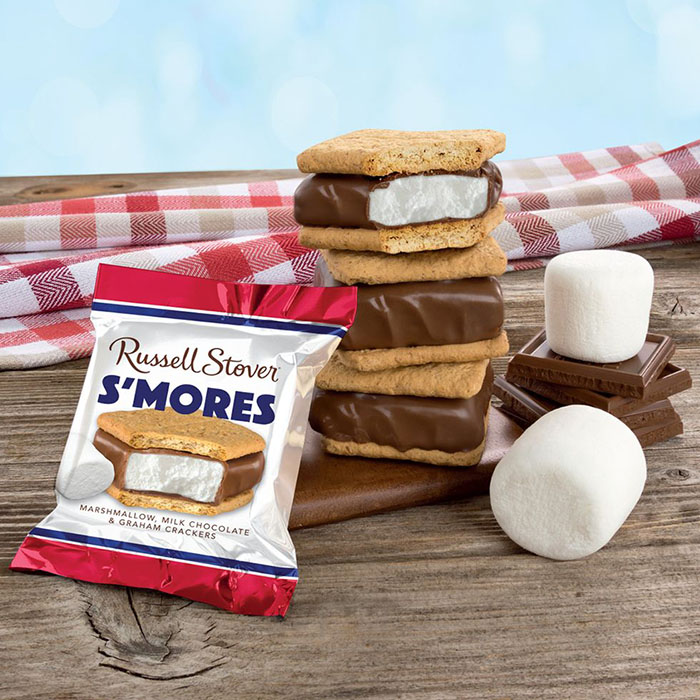 russell stover s'more bar