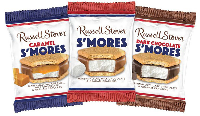 russell stover s'more bars