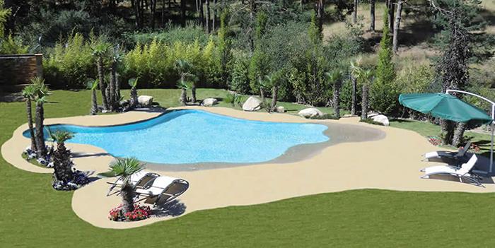 sand pools customized design