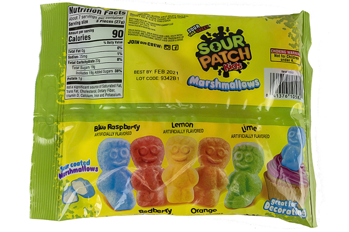 sour patch kids marshmallows pack