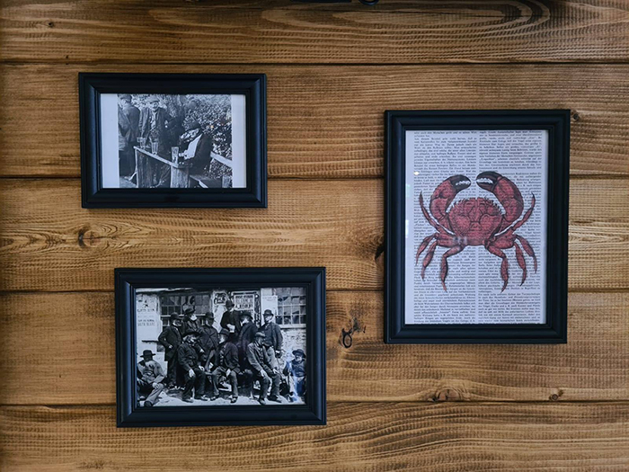 the drunken crab interior decors