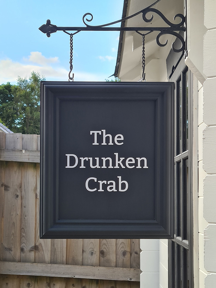the drunken crab sign
