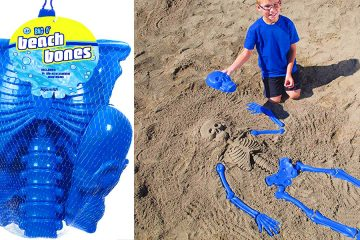 Bag O' Bones Beach Skeleton kit