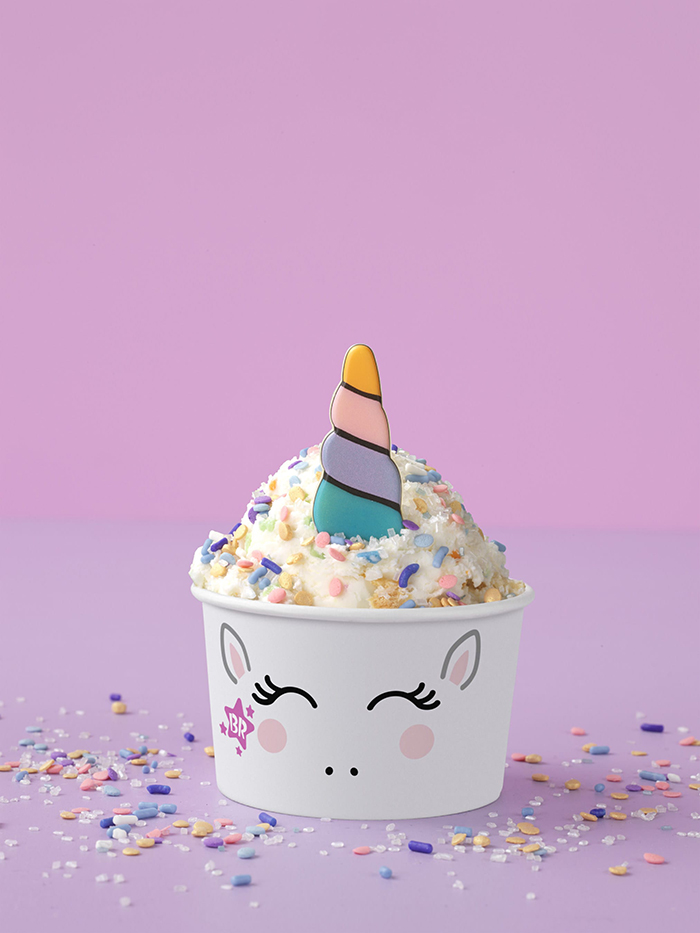 Baskin-Robbins Creature Creations Unicorn